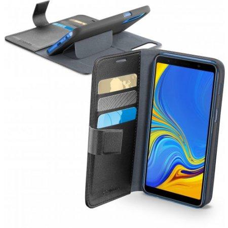 """Cellular Line Custodia smartphone fino 6 """" - Bookaggala72018k Nero"""