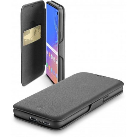 """Cellular Line Custodia smartphone fino 6.1 """" - Bookclugals10k Nero"""