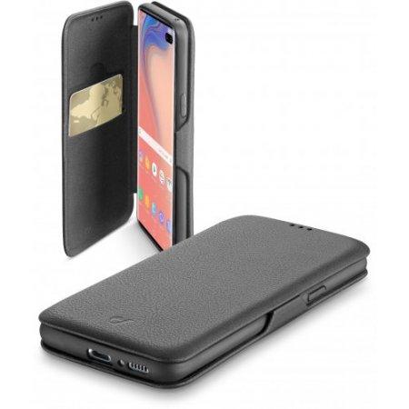 """Cellular Line Custodia smartphone fino 6.4 """" - Bookclugals10plk Nero"""