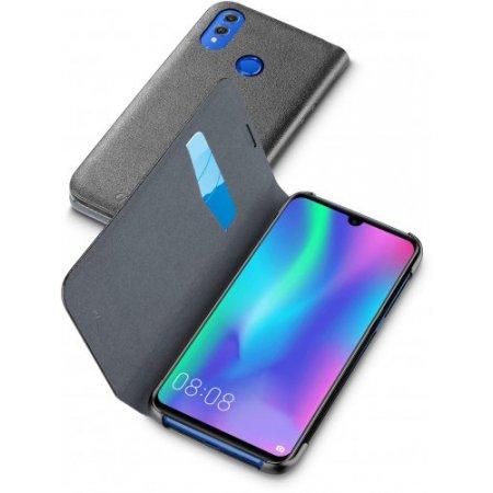 """Cellular Line Custodia smartphone fino 6.21 """" - Bookhonor10lk Nero"""