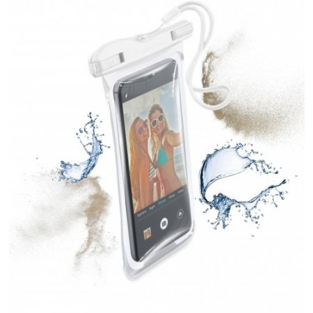 Cellular Line Custodia smartphone - Voyager19w Bianco