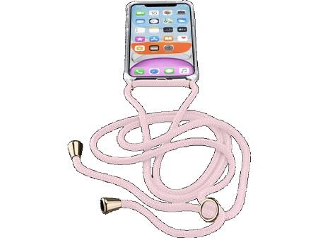 Cellular Line Neck-Case, iPhone 11 Custodia trasparente con Cordino regolabile - Neckcaseiphxr2p