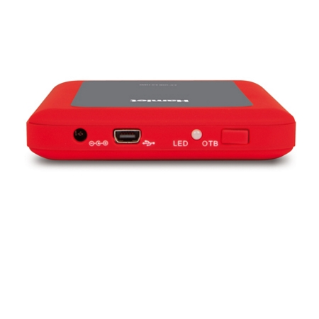 Hamlet Box esterno per Hard Disk - External Box Rugged Station Hxd25u3mrd