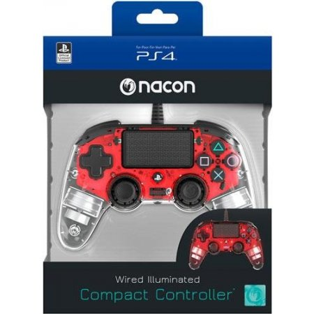 Bigben Controller gamepad - Ps4ofcpadclred