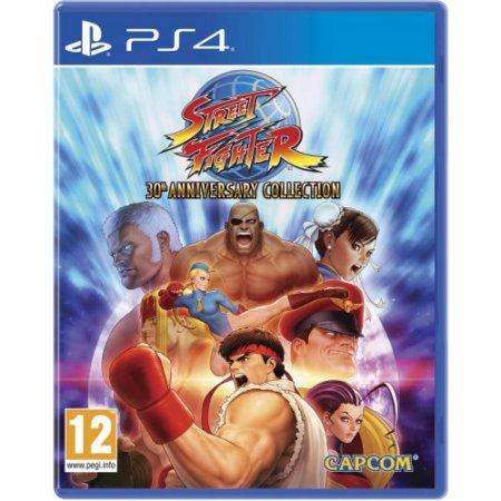 Capcom Gioco adatto modello ps 4 - Ps4 Street Fighter 30 Anniversary Sp4s15