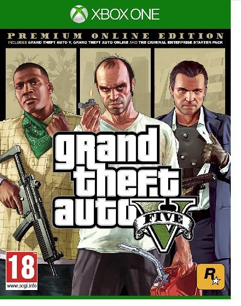 Cidiverte  Grand Theft Auto V: Premium Online Edition, Grand Theft Auto V: Premium Online Edition - Swx10605