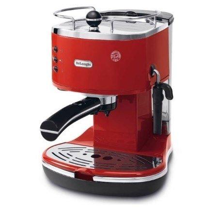 De Longhi Macchina da caffè manuale - Icona Vintage Ecov 311.r Rossa