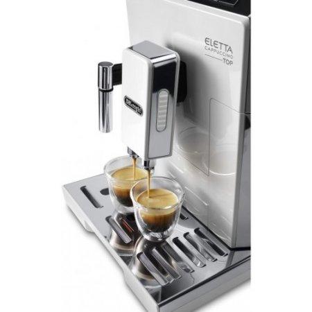 Delonghi Macchina caffe' espresso - Ecam 45.760.w Silver