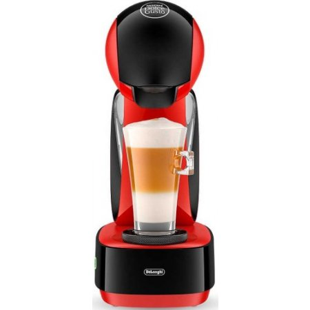 Delonghi Macchina caffe' espresso - Infinissima + 32 Capsule Edg260.r Rosso
