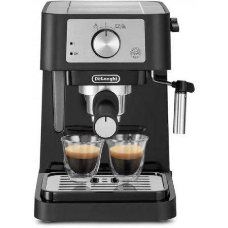 Delonghi Macchina caffe' espresso - Ec260.bk Nero-acciaio Inox