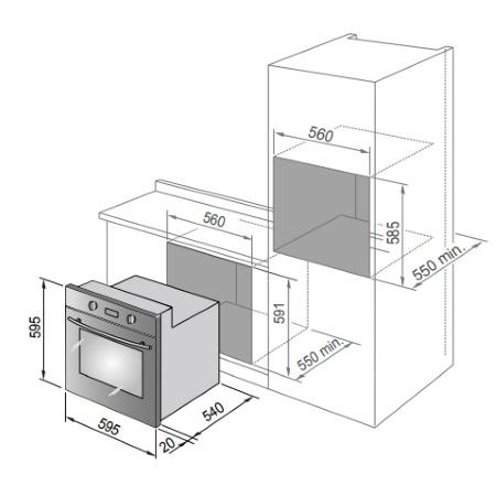 Delonghi Forno elettrico - Smb6