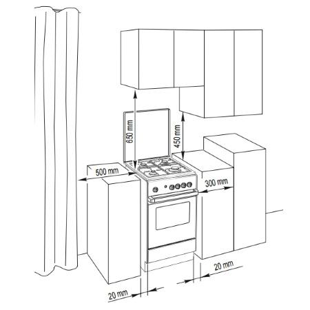 De Longhi Cucina con estetica bianca - SGW 554 GN N