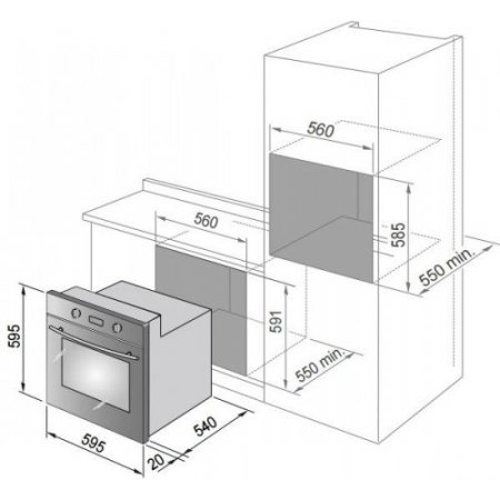 De Longhi Forno elettrico - Cm 9 R