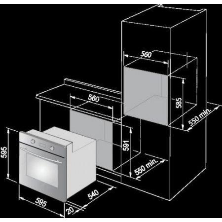 Delonghi Forno elettrico - Pmx6pp