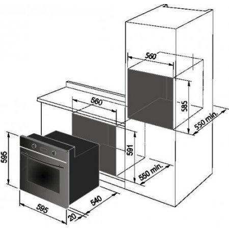 Delonghi Forno elettrico - Smn 8