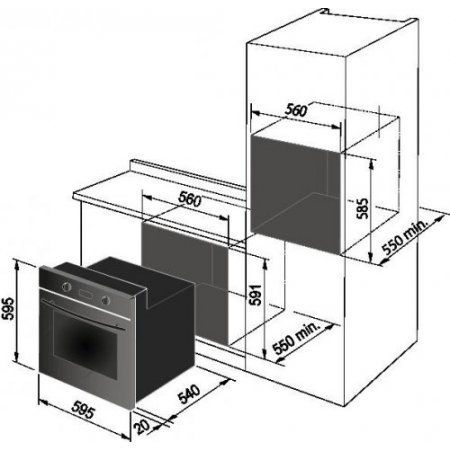 Delonghi Forno elettrico - Sms6