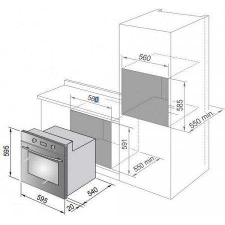 Delonghi Forno elettrico - Dlm 6 X