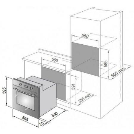 Delonghi Forno elettrico - Smn 6 Ed