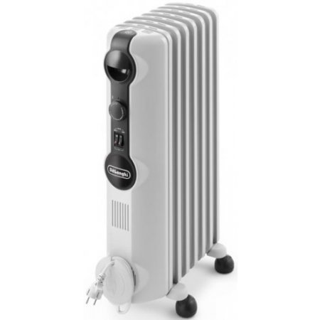 Delonghi Radiatore ad olio 1500w - Trrs 0715 Bianco