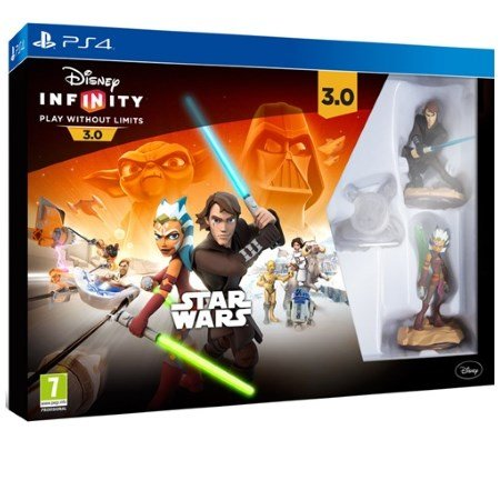 Disney - Infinity 3 Star Wars Starter Pack Pack PS4