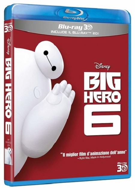 BRD BIG HERO 6 2D+3D