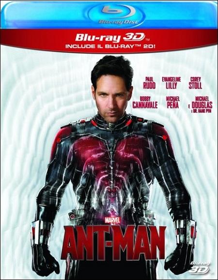 BD Ant-Man 2D+3D (2 DISCHI)
