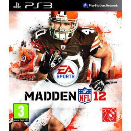 Electronic Arts - Ps3 Madden Nfl 12 eae03808255