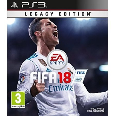 Electronic Arts Piattaforma PS3 - FIFA 18 - 1034429