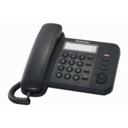 Panasonic Telefono a filo - Kx-ts520 Nero