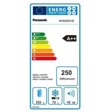 Panasonic Frigo combinato 2 porte no frost - Nr-b32sg2-se