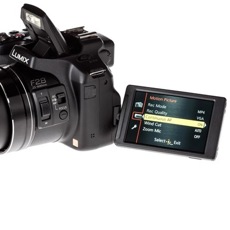 Panasonic Sensore MOS da 12.8 Mpx - Lumix Dmc-fz200