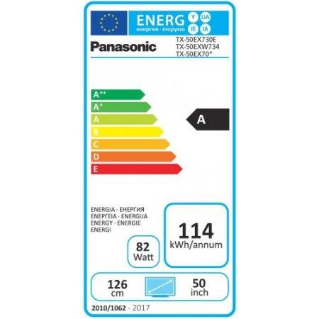 """Panasonic Tv led50""""ultra hd 4k hdr - Tx-50ex703e"""