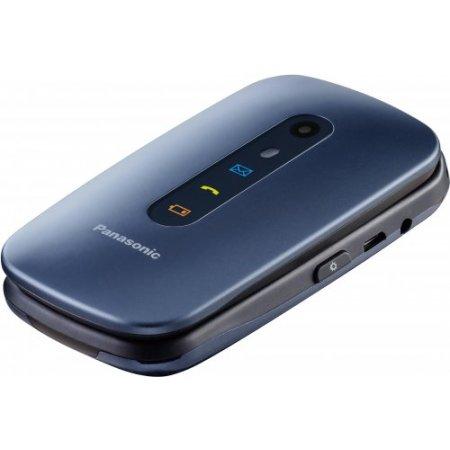 Panasonic Cellulare dualband gprs / gsm - Kxtu456ex Blu