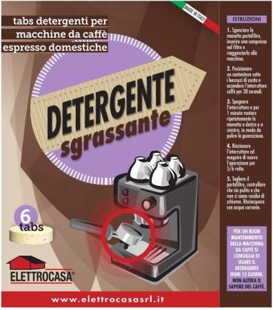 Elettrocasa Detergente Sgrassante macchina caffè - AS 49