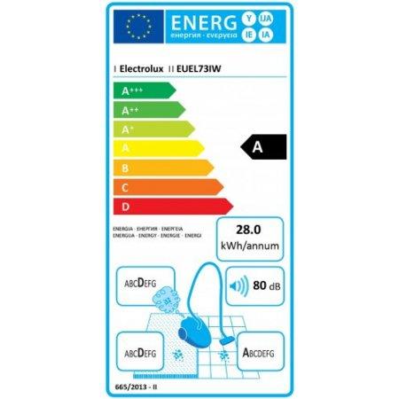 Electrolux Scopa elettrica 550 w - rex - Euel73iw Bianco