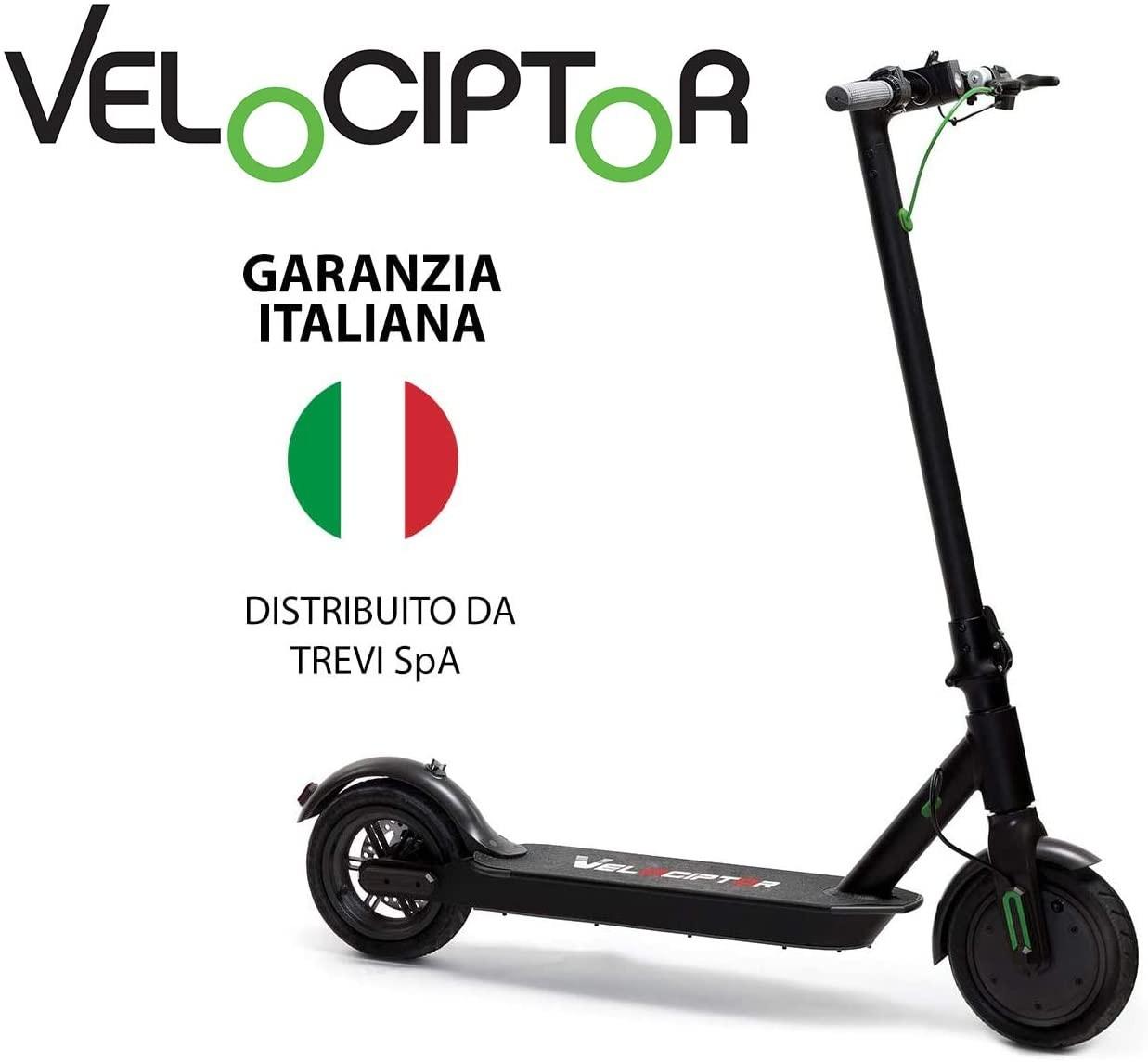 Electric Mooving Green - Es100 W Nero monopattino elettrico