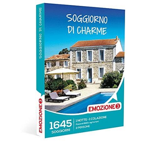 Emozione 3 Emozione3 - Soggiorno Di Charme - 1645 Soggiorni Di Charme In B&B e Agriturismi In Italia, Cofanetto Regalo - E3 Soggiorno Di Charme H.19.12