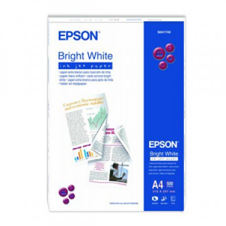 EPSON - BRIGHT WHITE INK JET