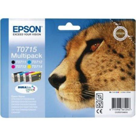 Epson 4 per confezione cartuccia inkjet - C13t07154020