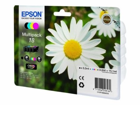 Epson 4 Cartucce inchiostro separate Epson - Multipack 18 -C13t18064020