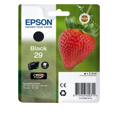 Epson - Cartuccia Ink Nero per Xp-235
