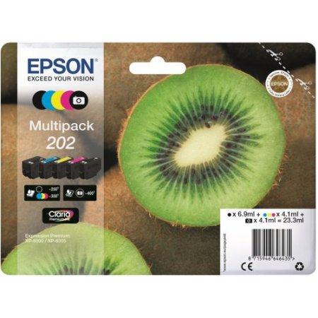 Epson 5 per confezione cartuccia inkjet - 202 C13t02e74020