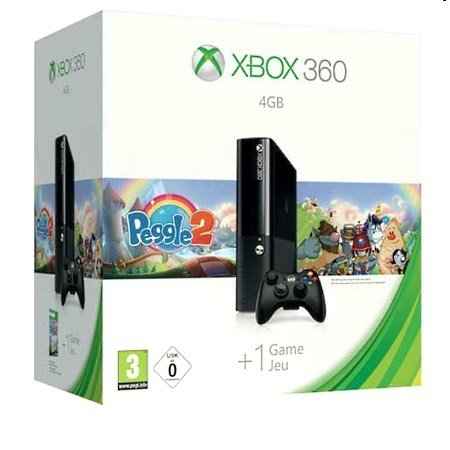 Microsoft - Xbox 360 4GB Stingray +Peggle 2