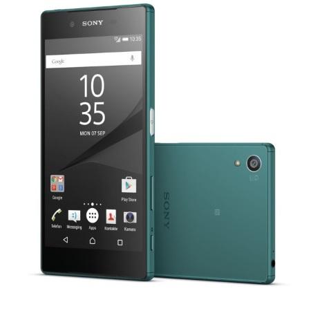 Sony Impermeabile (IP68) / 4G LTE / Wi-Fi - Xperia Z5 Green