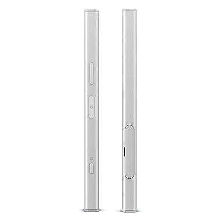 "Sony Display HD TRILUMINOS™ da 4,6"" - Xperia XZ1 Compact White Silver"