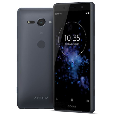 Sony Quadri Band - 4G-LTE - Wi-Fi - NFC - A-GPS - Xperia Xz2 Compact Black