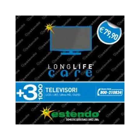 Estensione Assistenza Estensione di Assistenza della durata di 3 anni dalla scadenza della garanzia legale - +3 Anni TV da 500 € a 1000 €
