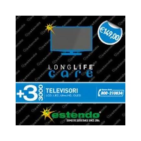 Estensione Assistenza Estensione di Assistenza della durata di 3 anni dalla scadenza della garanzia legale - +3 Anni TV da 2000 € a 3000 €