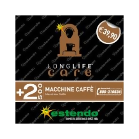 Estensione Assistenza Estensione di Assistenza della durata di 2 anni dalla scadenza della garanzia legale - +2 Anni Macchine Caffè fino a 500 €