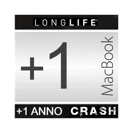 Estensione Assistenza - +1 Anno CRASH +1 Anno Macbook